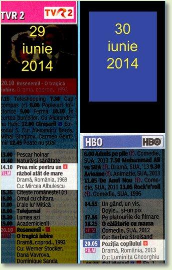 B 29 - 30 iunie TVR 2 - HBO