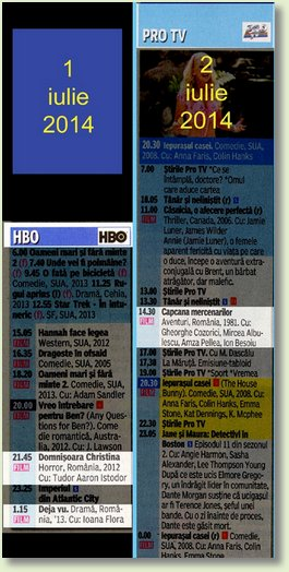 C 1 - 2 iulie PROTV - HBO