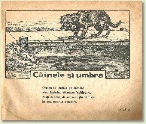 A CAINELE SI UMBRA