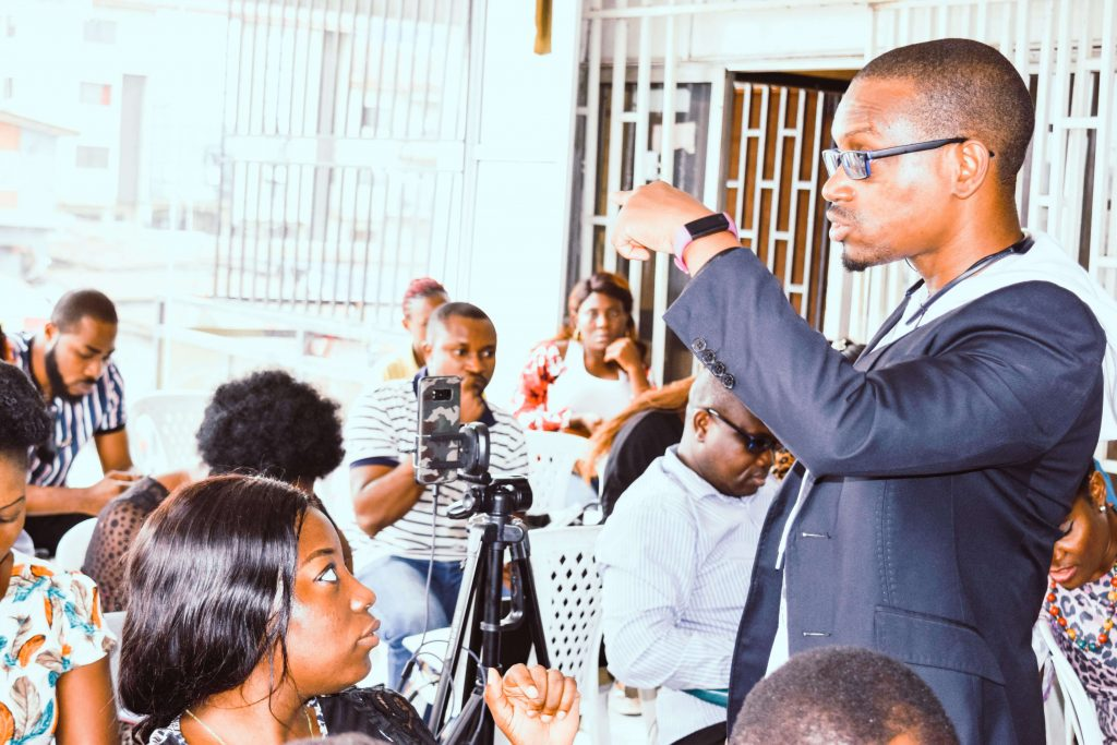 victor anyanwu The Social media oracle training Daystar business school