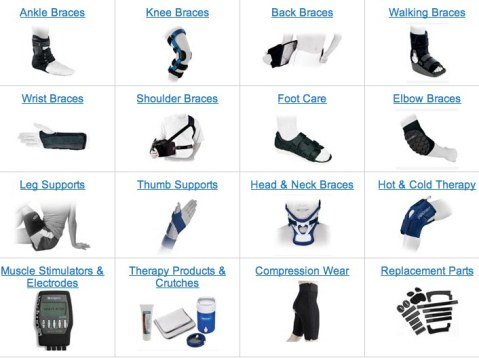 Knee Braces and Ankle Braces