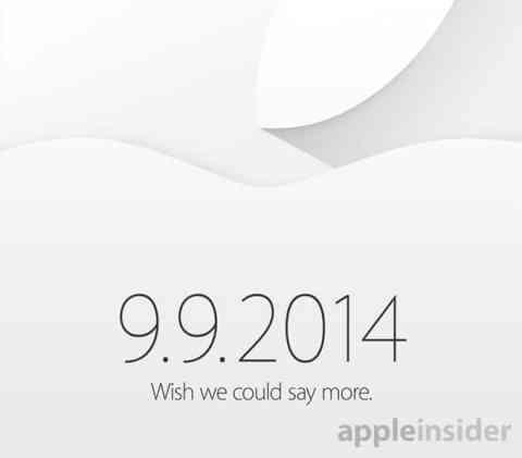 Apple Event 9-9-2014 Invite