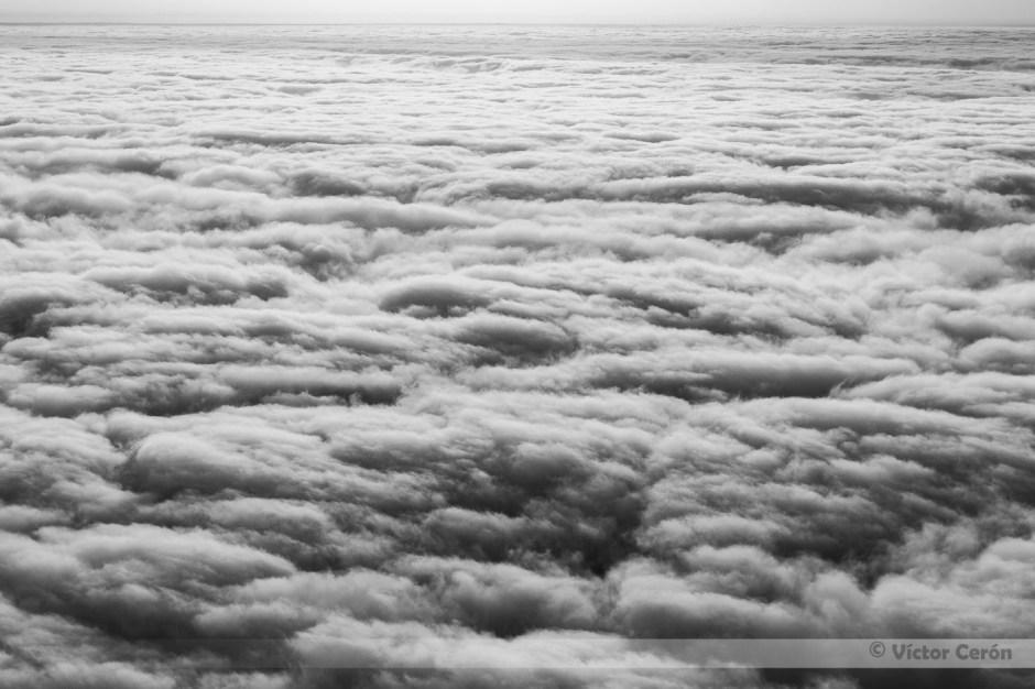 victor cerón, fotografia, mar de nubes