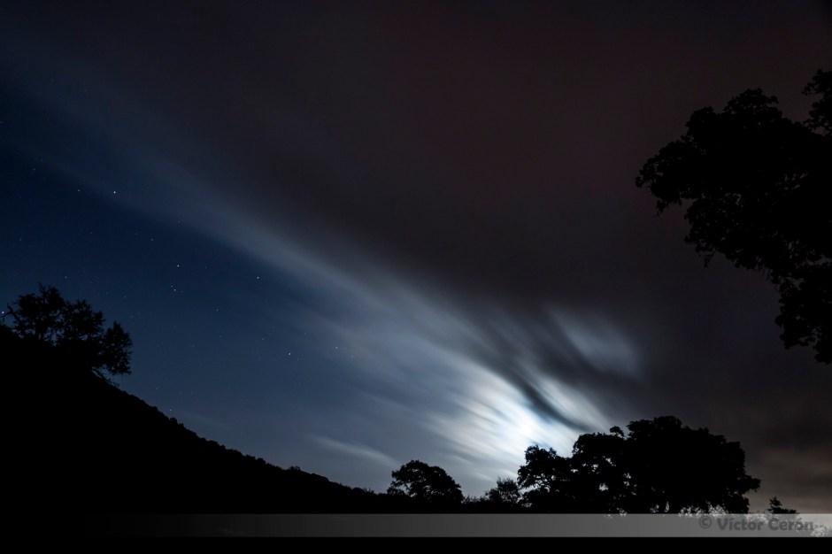 perseidas, victor cerón, fotografia nocturna