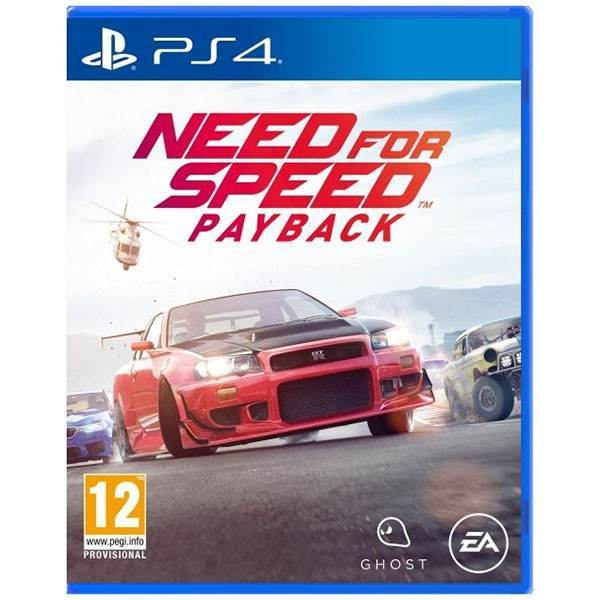 Need For Speed Payback Ps4 2d Cover