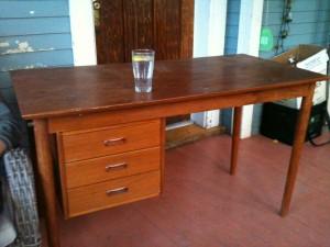 old desk photo