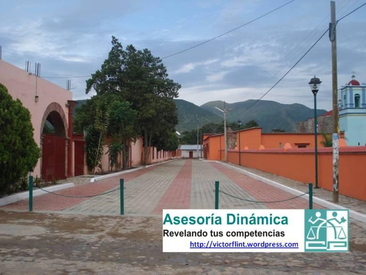 Andador Turístico en Santo Tomás Jalieza.