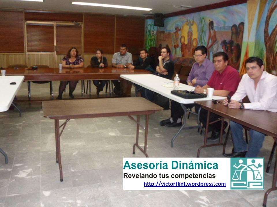 Durante presentación Programa Capacitación 2013