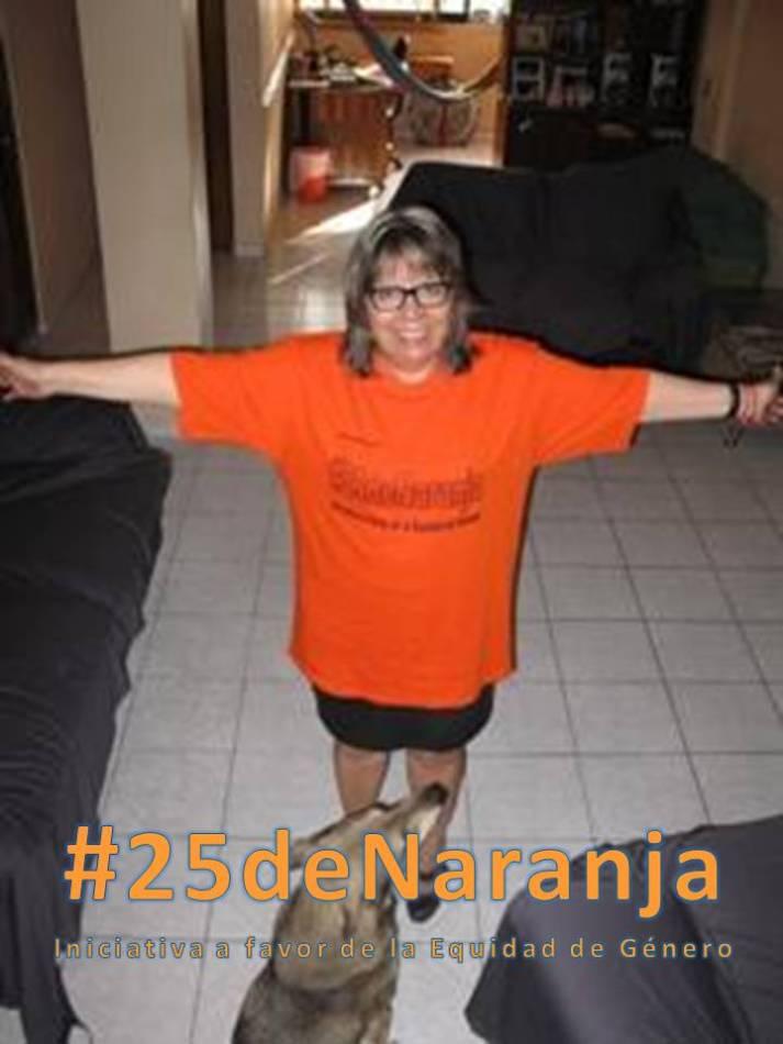 Saludos desde Acapulco, Guerrero que se une a #25deNaranja