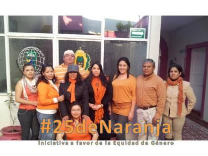 Instituto Alejandría Durango, Dgo. participante en #25deNaranja