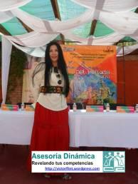 Mara Romero Directora de PROTUR presenta Guía de la Danza del Venado 2013.