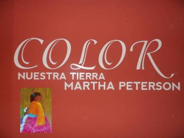 Color. Nuestra Tierra de Martha Peterson.