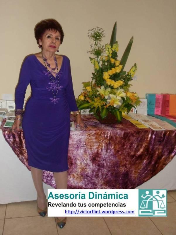 Sra. Irma Arana Rodríguez, Presidenta APALBA.