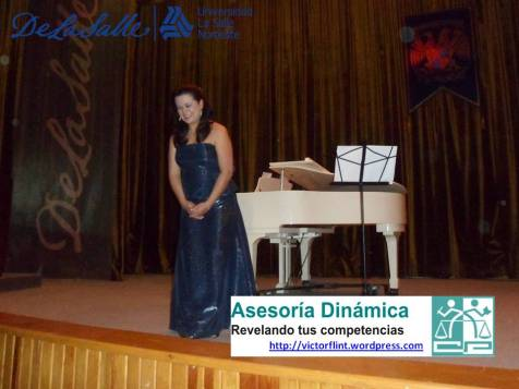 Soprano Sandra Maliká en ULSA Noroeste.