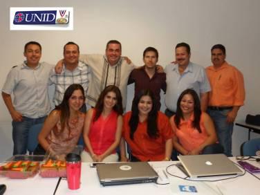 Participantes en Posgrado UNID Sede Cd. Obregón, Sonora.