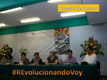 """Mesa 2 en el 1er. Delirio de Letras """"Tinta en Revolución""""."""