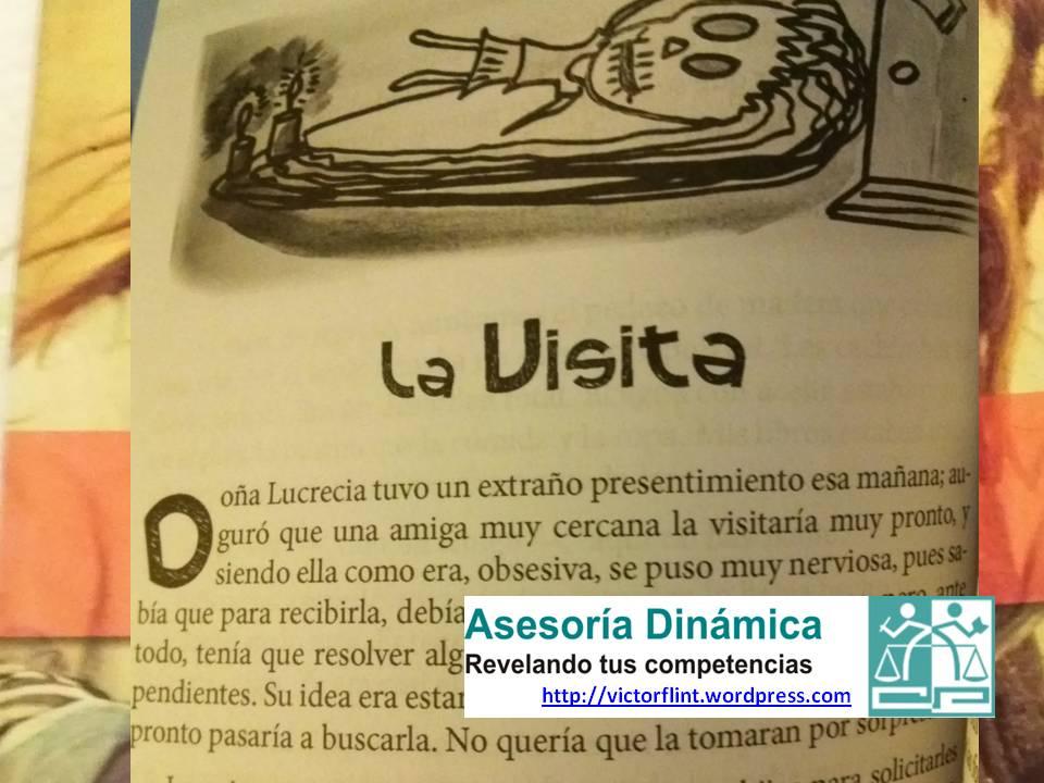 La Visita. Viento Negro y Otros Relatos de Jesús Huerta Suárez.