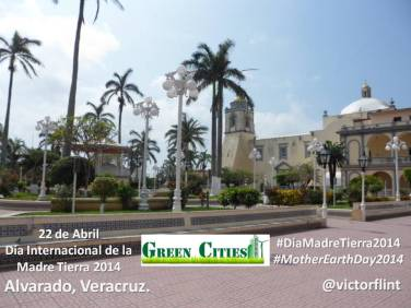 Alvarado, Veracruz. Día de la Madre Tierra 2014.