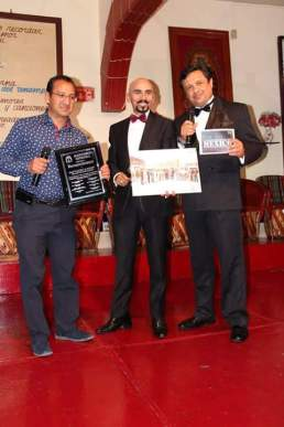 Héctor Morales, Javier Garnica y Aramis Montecristo