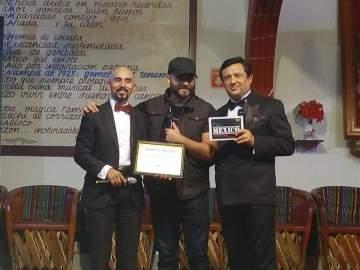 Javier Garnica, Cristian Santini y Aramis Montecristo