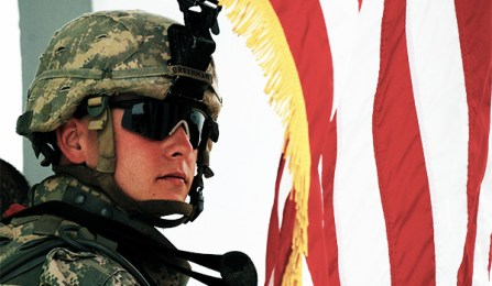 A Tenth Mountain Division soldier in Kirkuk Province, Iraq, 2008. (Photo: Staff Sgt. Samuel Bendet, Via NRO)