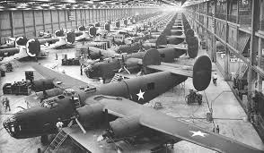 Arsenal of Democracy: B-24 Liberator plant in Fort Worth, Texas. (U.S. Air Force)