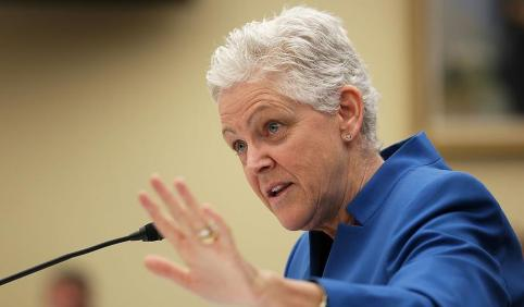 EPA chief Gina McCarthy on Capitol Hill. (Alex Wong/Getty)