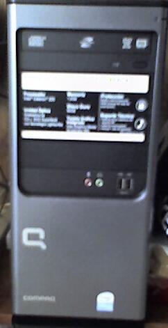 Revisión de la Compaq Presario PC SG3404LA (1/3)