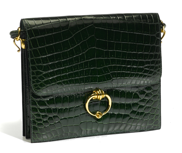 Hermes Crocodile Sac Sequana Handbag