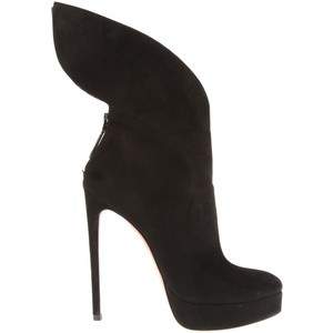 Alaia Blow Ankle Boots as seen on Victoria Beckham