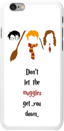 iPhone 6 case, Harry Potter quote