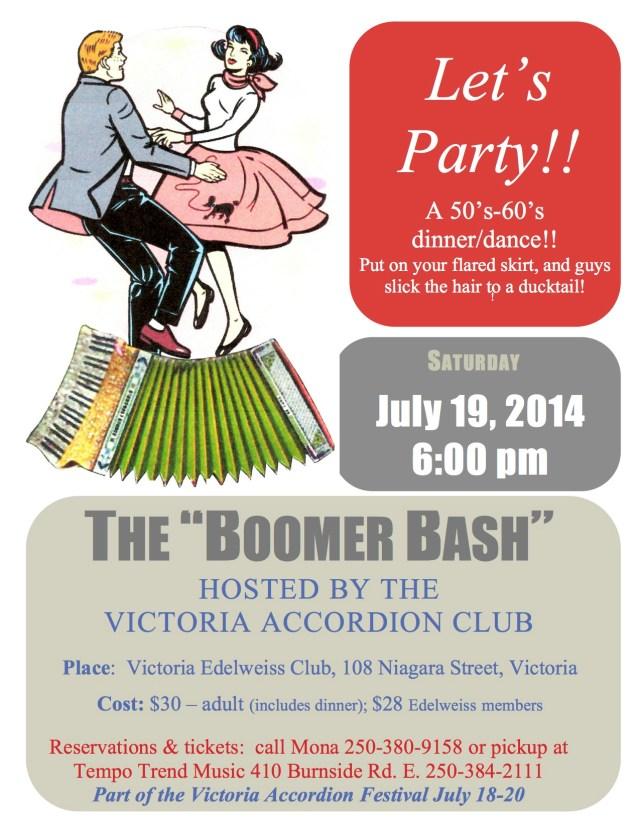 VAC dinnerdance poster