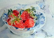 Strawberries in Dish 2015