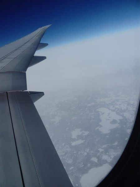 That's Canada down there!