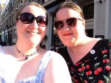 Me and Brit Babe Street Teamer Emma!