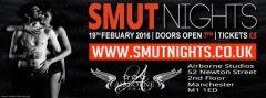 Smut Night 19th February, Readings, Performances and Fun! #erotica #eroticromance