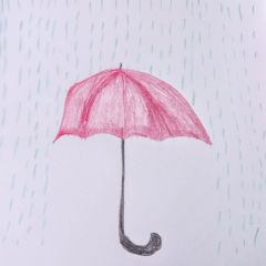 Red Umbrella #MasturbationMonday
