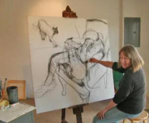 Artist Victoria Chick