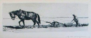 Ernst Haymann, 19th century German etcher