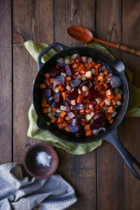 Oven Roasted Root Vegetables by @theroastedroot
