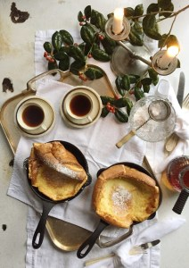 Skillet Dutch Baby Recipe - Victoria Cast Iron Mini Skillets