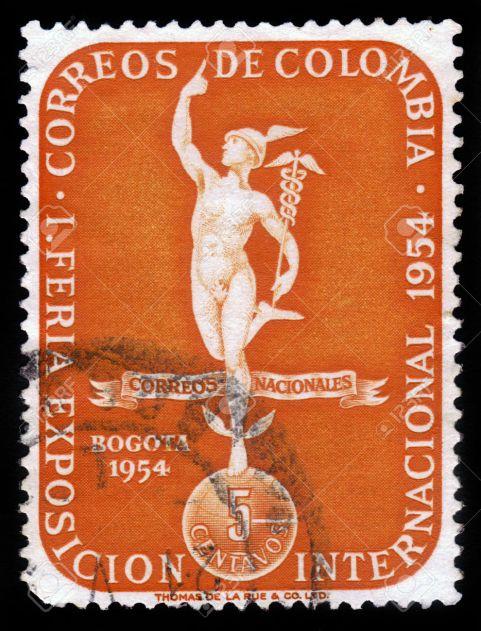god of commerce Mercury
