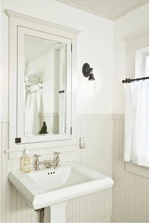 Tall Mirrored Bathroom Cabinet