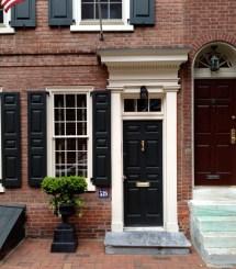 Door Inspiration Philadelphia Society Hill. Historic