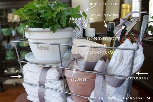 Housewarming T – Make A Pretty And Practical T Basket