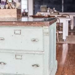 Craigslist Kitchen Island Farmhouse Faucets Repurposed Mms Victoria Elizabeth Barnes