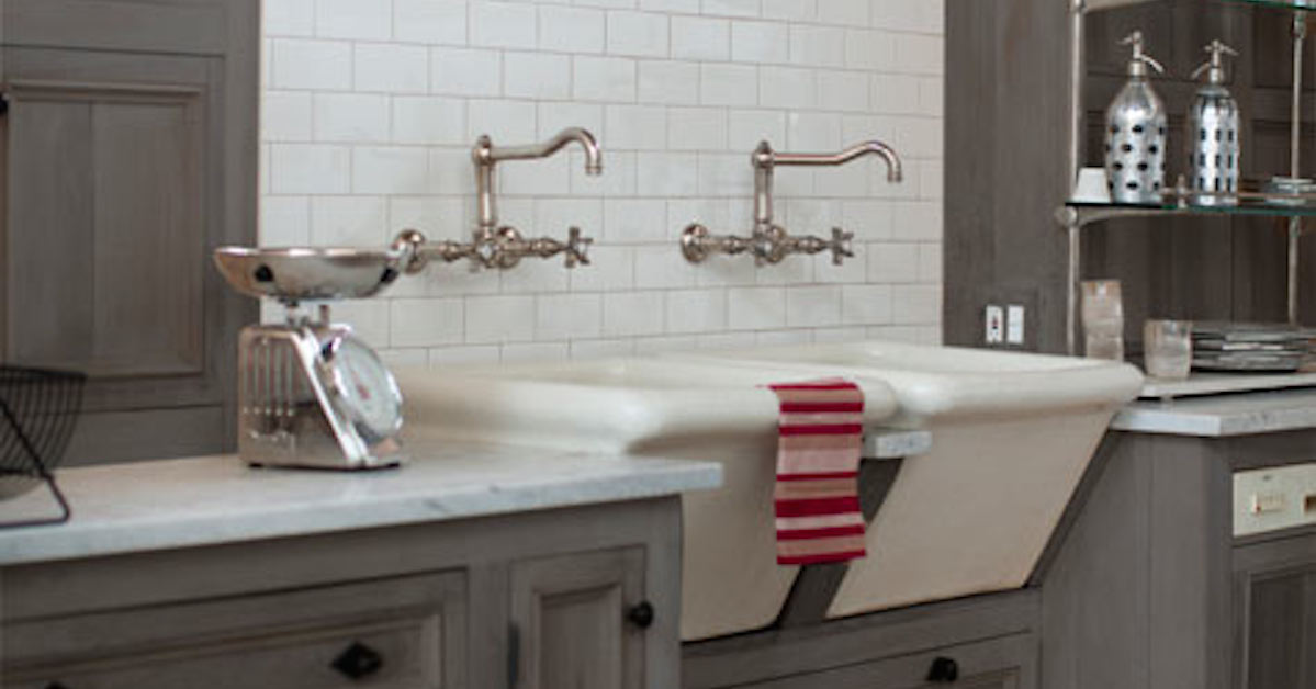 drop in farmhouse kitchen sinks what is the average cost for cabinets apron-front, sink options... and why i decided ...