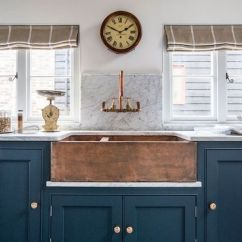 Copper Sink Kitchen Stainless Undermount Wallmount Antique Brass Faucet Integrated Cabinets Hardware Marble Counter