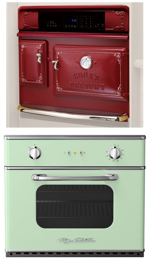 vintage retro reproduction wall oven