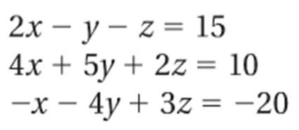 3-4 day 2 Solving 3 variable 3 equation systems algebraically